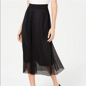 Alfani Mesh Midi Skirt